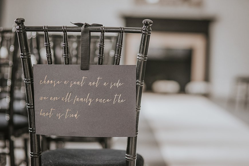 10 Things You Don't Actually Need For Your Wedding - A seating plan | CHWV