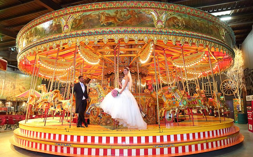 9 Unusual Wedding Venues For A Unique Day - Thursford Garden Pavilion | CHWV