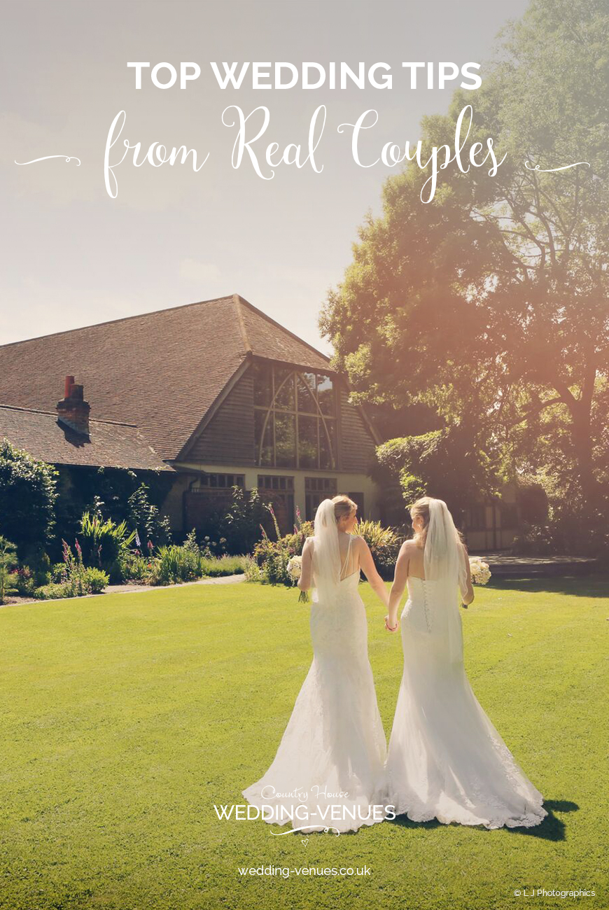 Top Wedding Tips From Real Couples | CHWV
