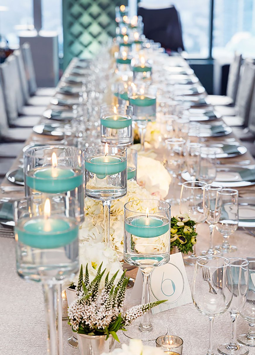 Turquoise Wedding Decorations | Wedding Ideas By Colour | CHWV