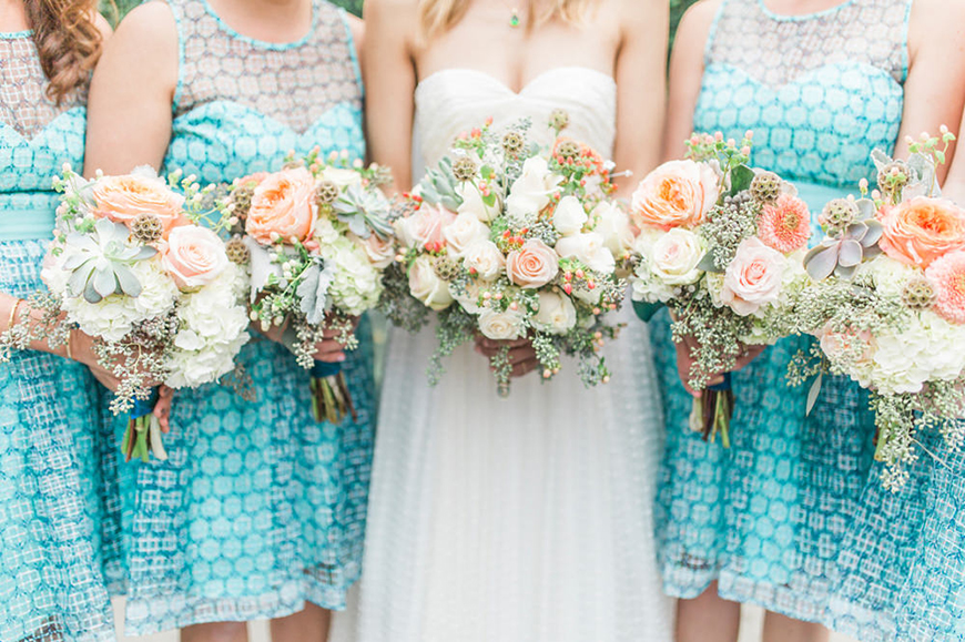 Turquoise Wedding Decorations - Summer style | CHWV