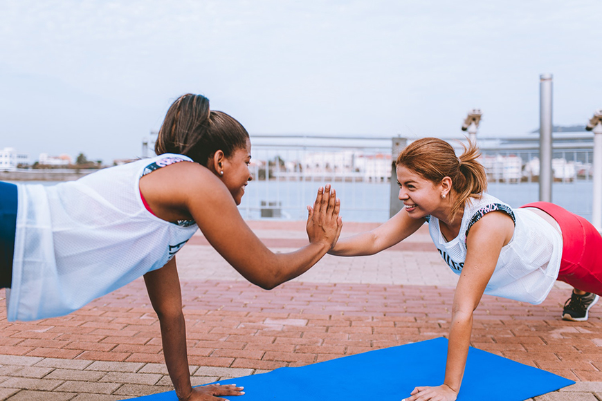 13 Unique Hen Party Ideas - Fitness retreat | CHWV