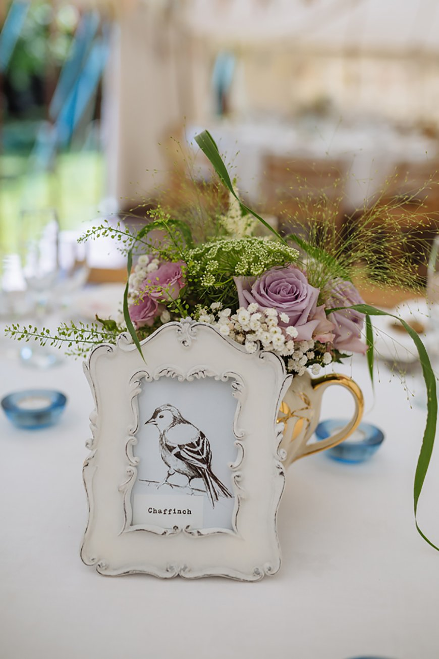 12 Unmissable Table Name Ideas - All about you | CHWV