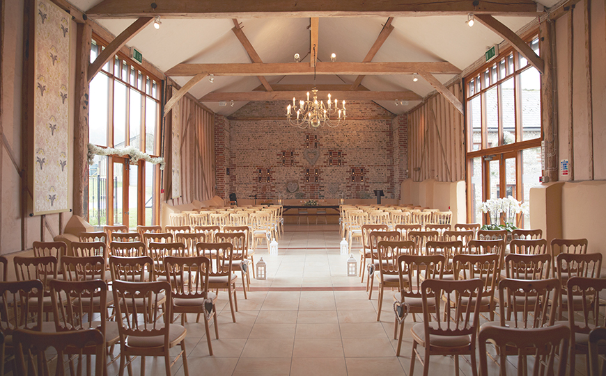 10 Romantic Wedding Venues That You Won't Want To Miss - Upwaltham Barns | CHWV