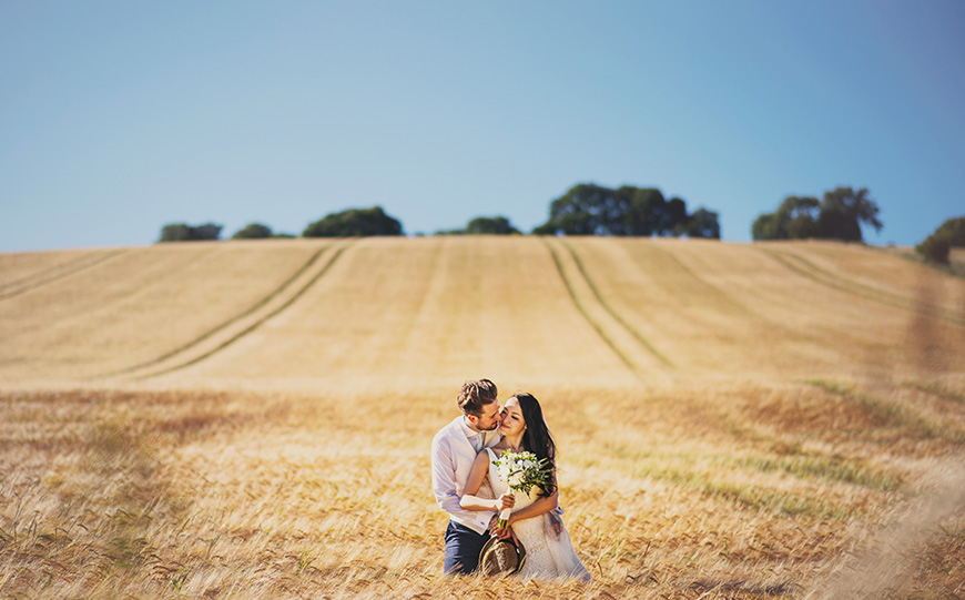 The Perfect Venues For A Festival Wedding Theme - Upwaltham Barns | CHWV