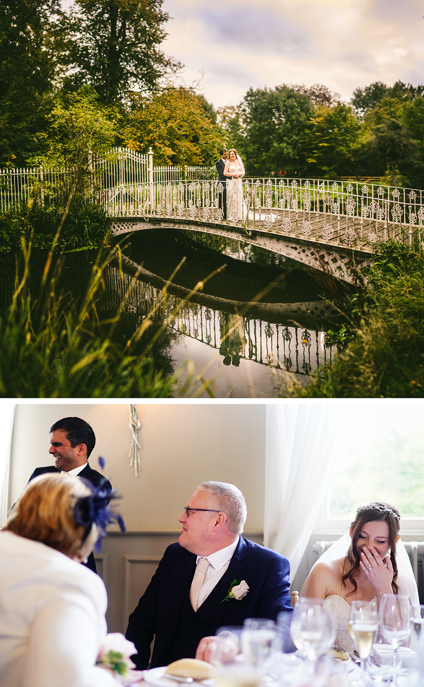 Real Wedding - Vicky and Lalit's Elegant Autumn Wedding at Morden Hall | CHWV