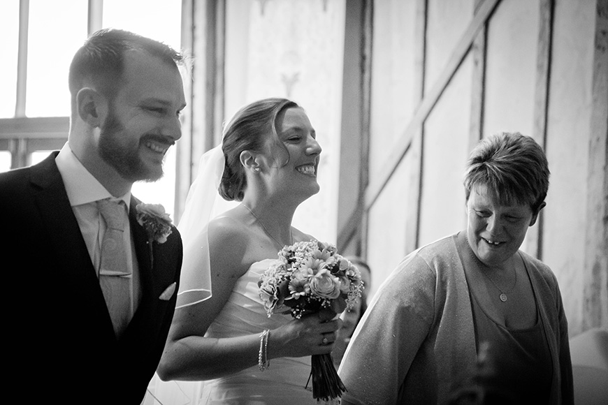 Real Wedding - A Fun and Light-Hearted Wedding at Upwaltham Barns - Laughter | CHWV