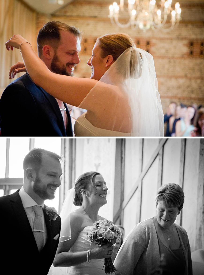 Real Wedding - Victoria and Jamie's Vintage Barn Wedding - Ceremony | CHWV