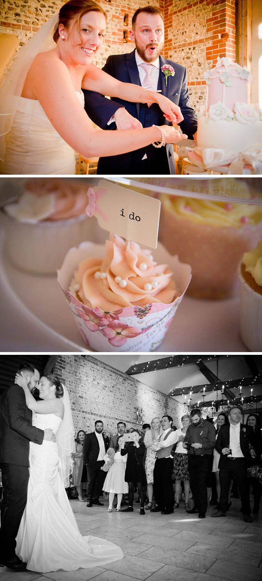 Real Wedding - Victoria and Jamie's Vintage Barn Wedding - Evening reception | CHWV