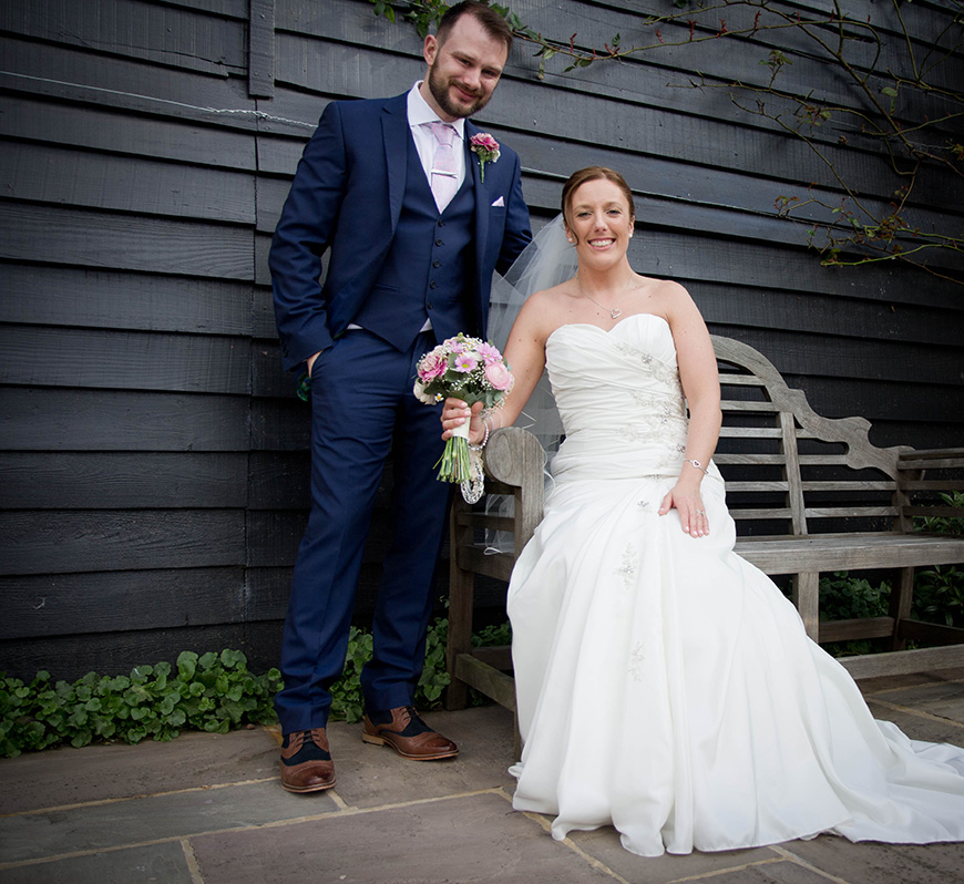 Real Wedding - Victoria and Jamie's Vintage Barn Wedding - Outfits | CHWV