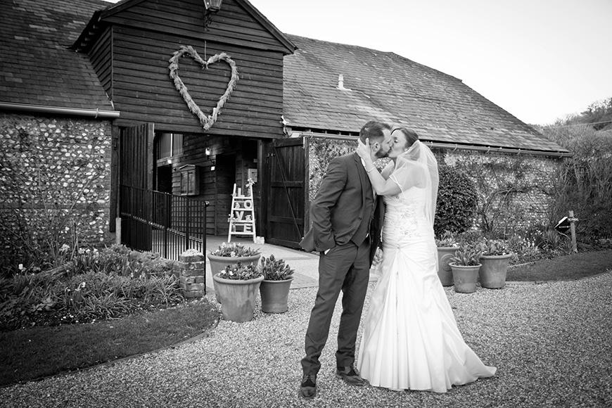 Real Wedding - Victoria and Jamie's Vintage Barn Wedding - The venue | CHWV