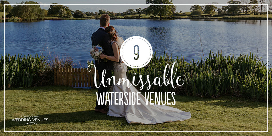 If you've always dreamt of your wedding taking place in a picturesque and private location, you're going to love these wonderful waterside wedding venues! Providing incredible views and an unbeatable peaceful atmosphere, we can't think of much better than tying the knot next to an idyllic lake a trickling river. Read on to see some of our favourites!