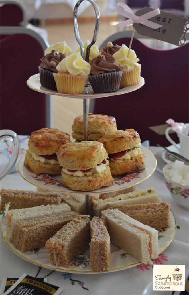 How to host a quintessentially English wedding afternoon tea party - Food | CHWV