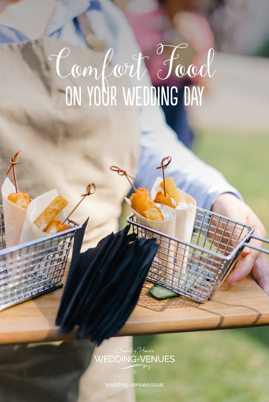 Comfort Food On Your Wedding Day | CHWV