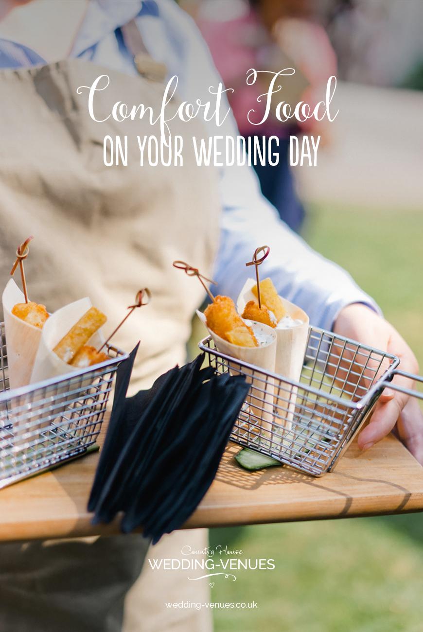 Comfort Food On Your Wedding Day | CHWV