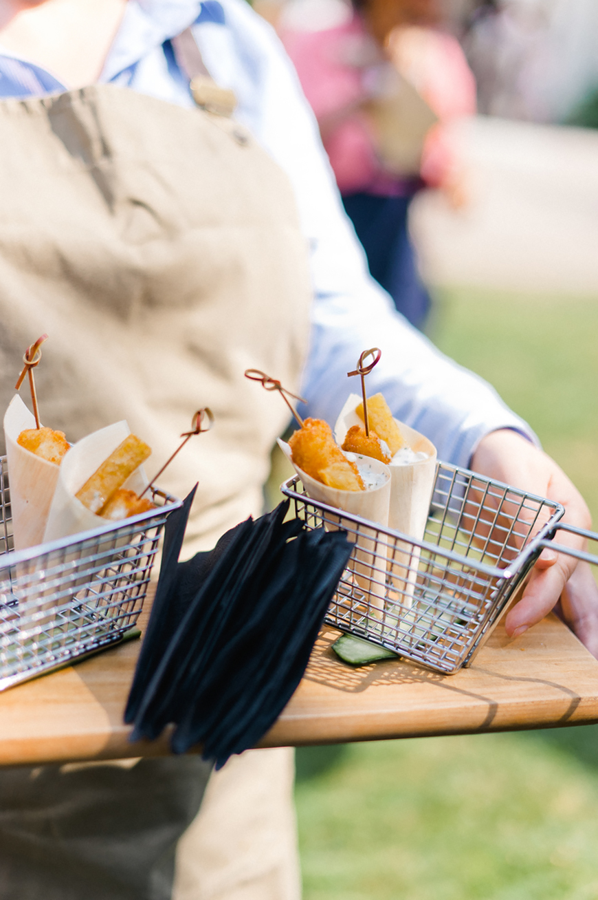 Comfort Food On Your Wedding Day - Canapes | CHWV