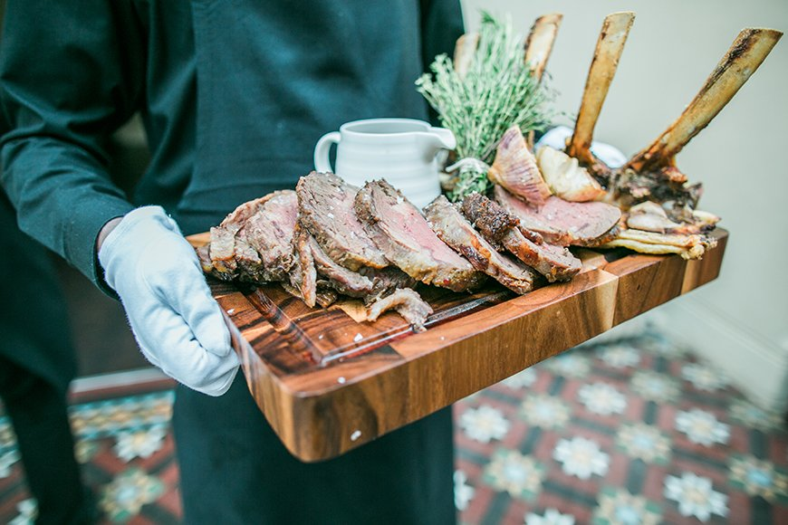 Comfort Food On Your Wedding Day - Sharing board | CHWV