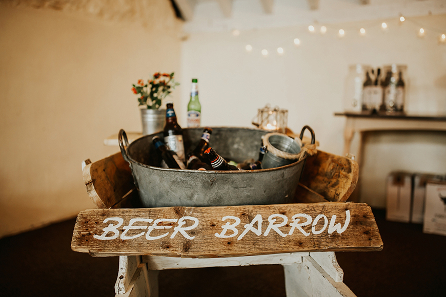 Wedding Drinks With A Difference - Beer barrow | CHWV