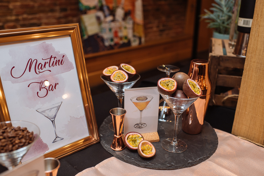 Wedding Drinks With A Difference - Martini | CHWV