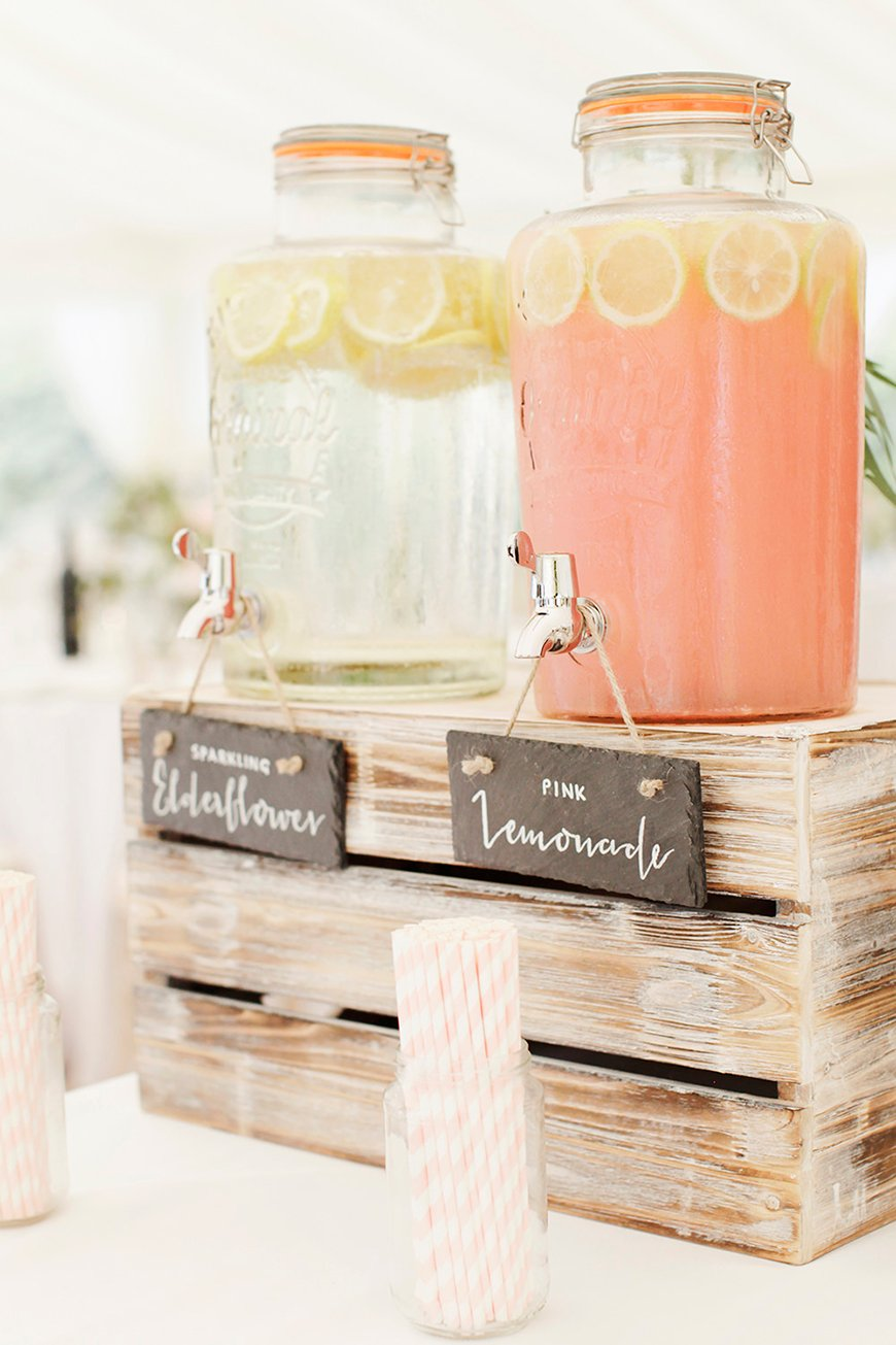 Wedding Drinks With A Difference - Non alcoholic | CHWV