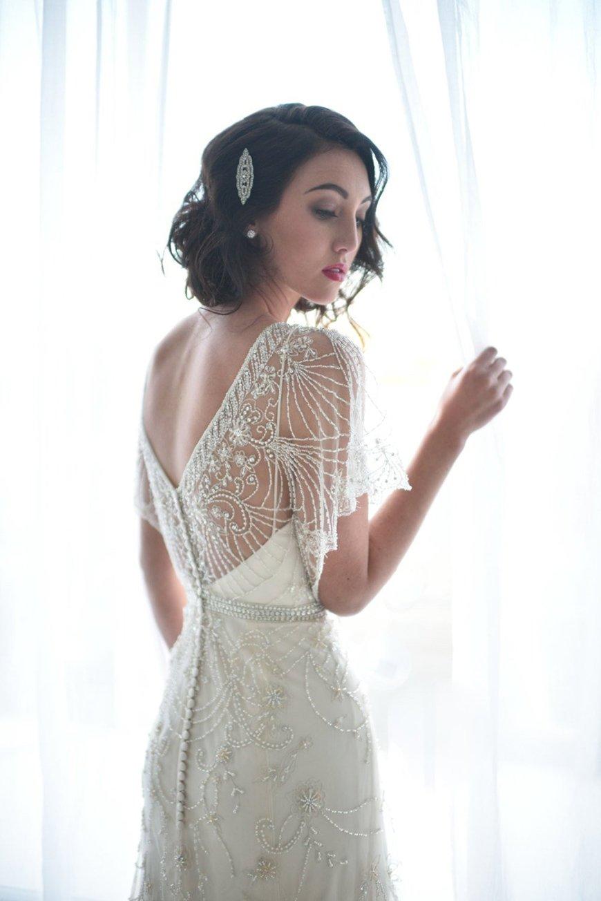 Wedding Dresses With Short Hair