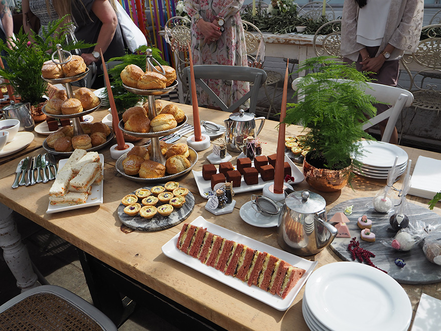In Wedding Wonderland with not on the High Street - Afternoon Tea | CHWV