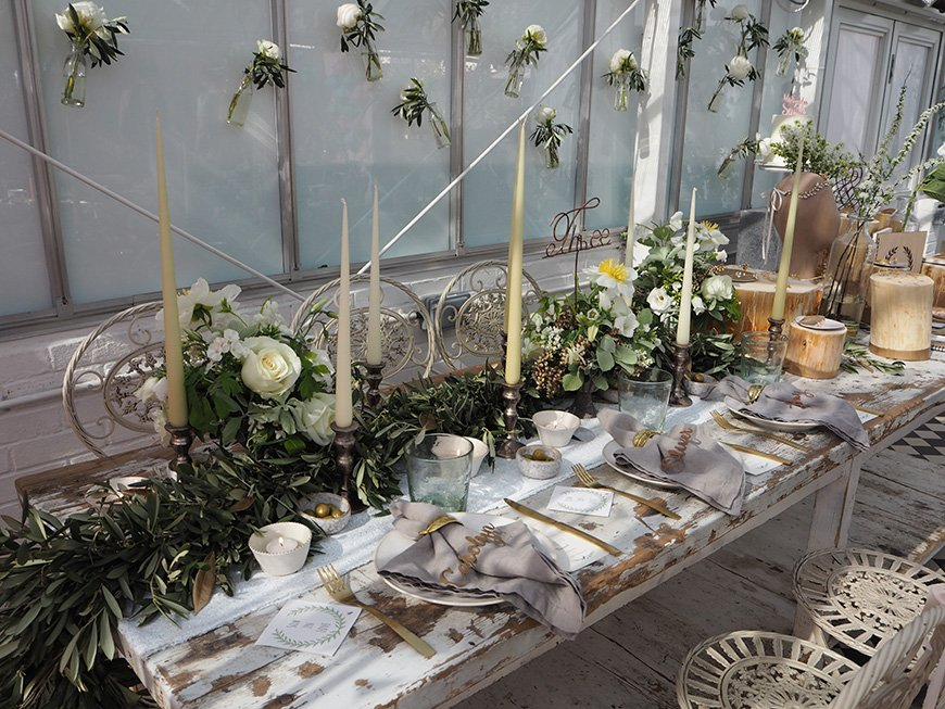 In Wedding Wonderland with not on the High Street - Botanical theme | CHWV
