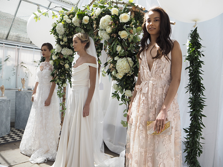 In Wedding Wonderland with not on the High Street - Kate Halfpenny Dresses | CHWV