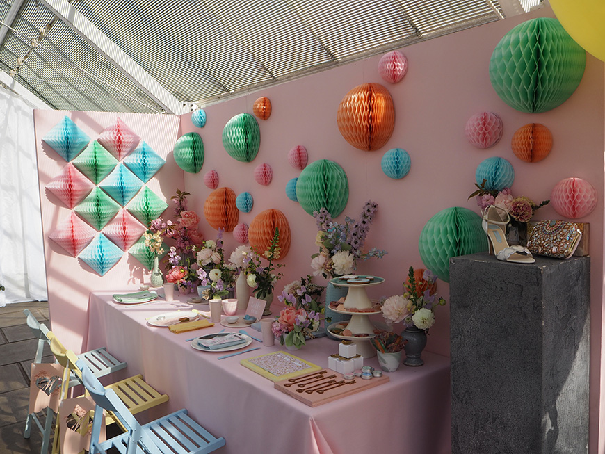 In Wedding Wonderland with not on the High Street - Pastel colours | CHWV