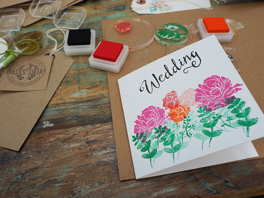 In Wedding Wonderland with not on the High Street - Rubber stamps | CHWV