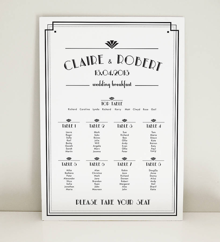 Which Vintage Wedding Theme Is Right For you? - Art deco wedding theme | CHWV