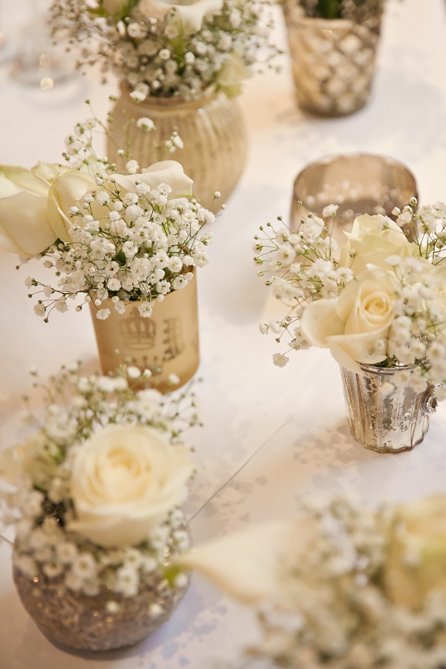 White Wedding Decorations | Wedding Ideas By Colour | CHWV