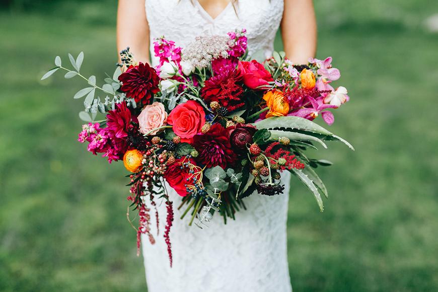 Wedding Ideas By Colour: Winter Wedding Colour Schemes - Jewel tones | CHWV
