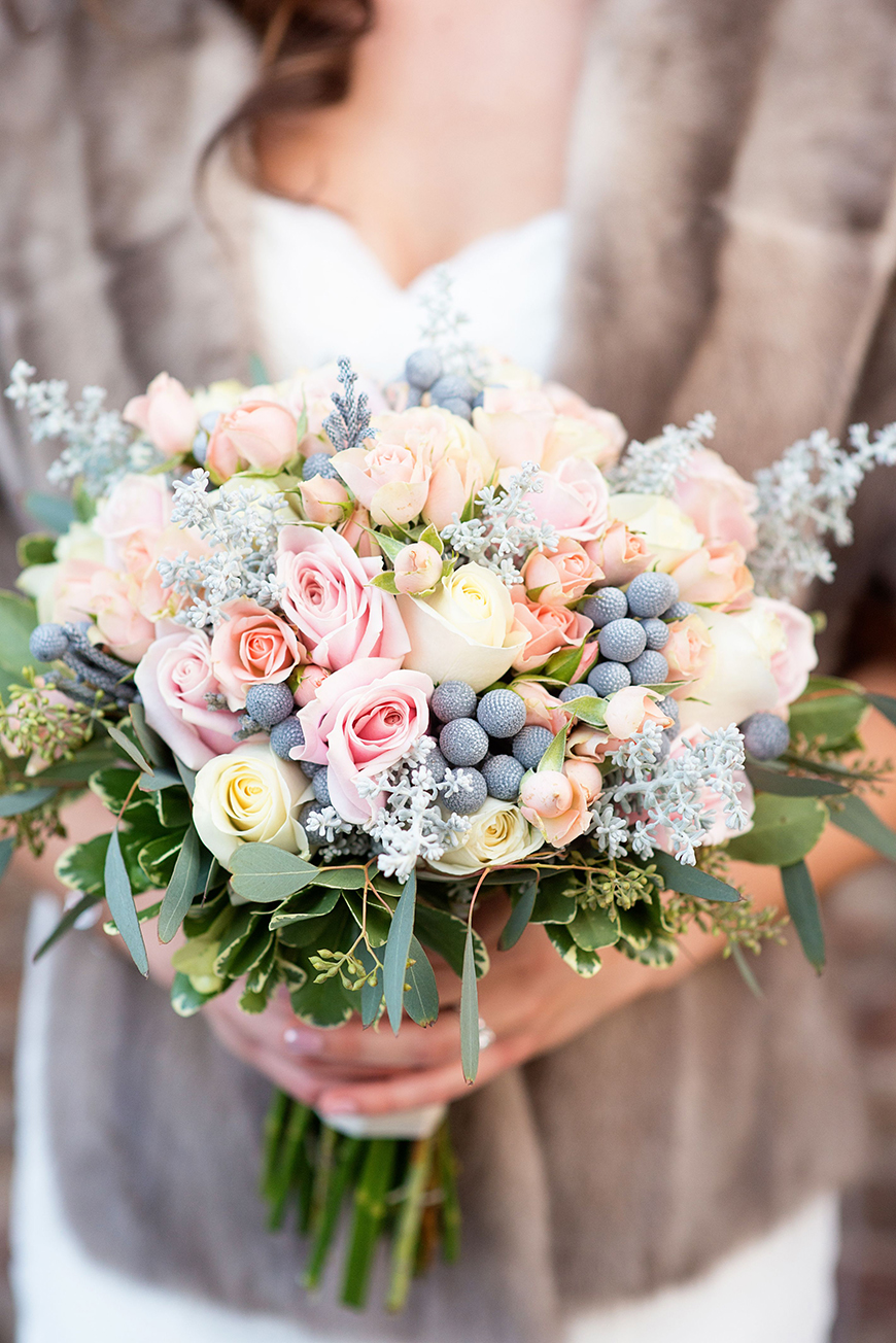 Wedding Ideas By Colour: Winter Wedding Colour Schemes - Frosted pastels | CHWV