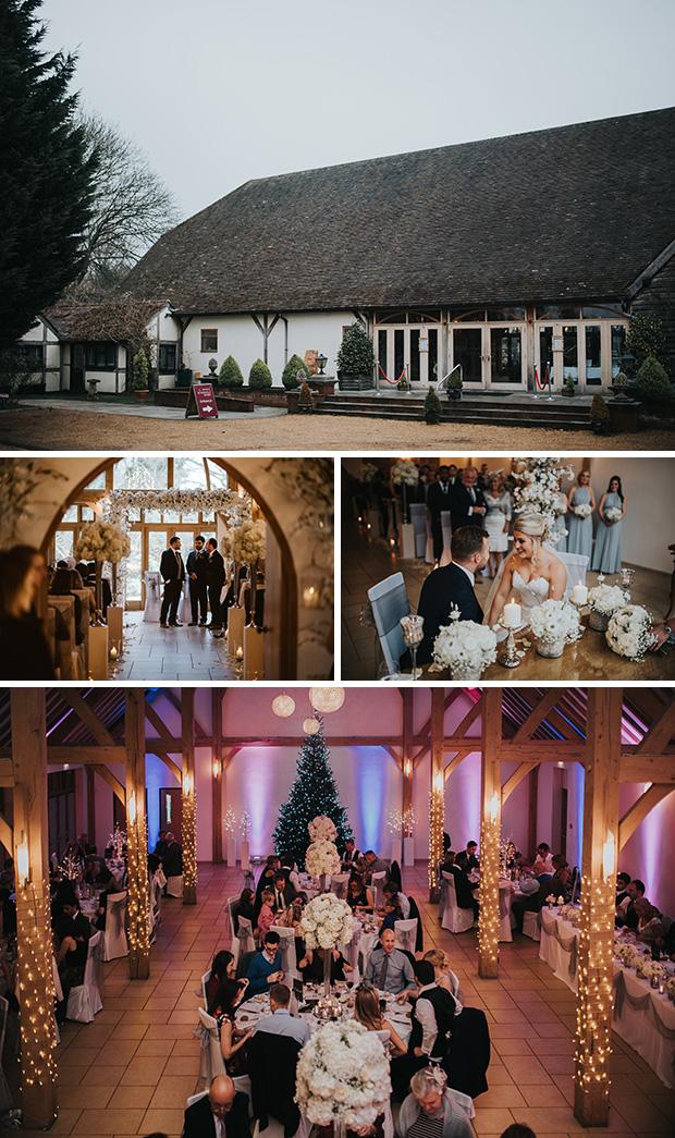 Winter wedding theme ideas - Rivervale Barn | CHWV