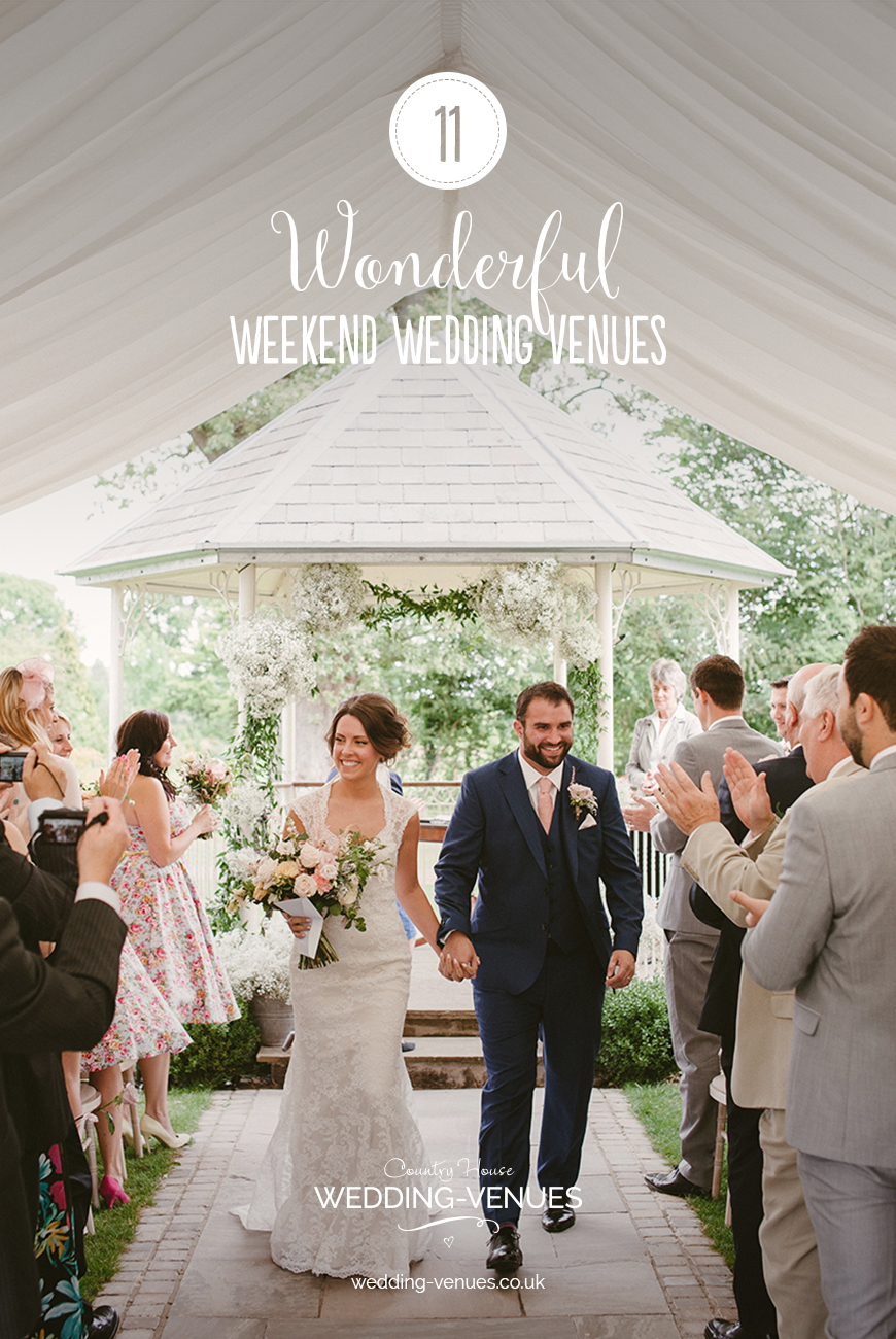 11 Wonderful Weekend Wedding Venues   CHWV