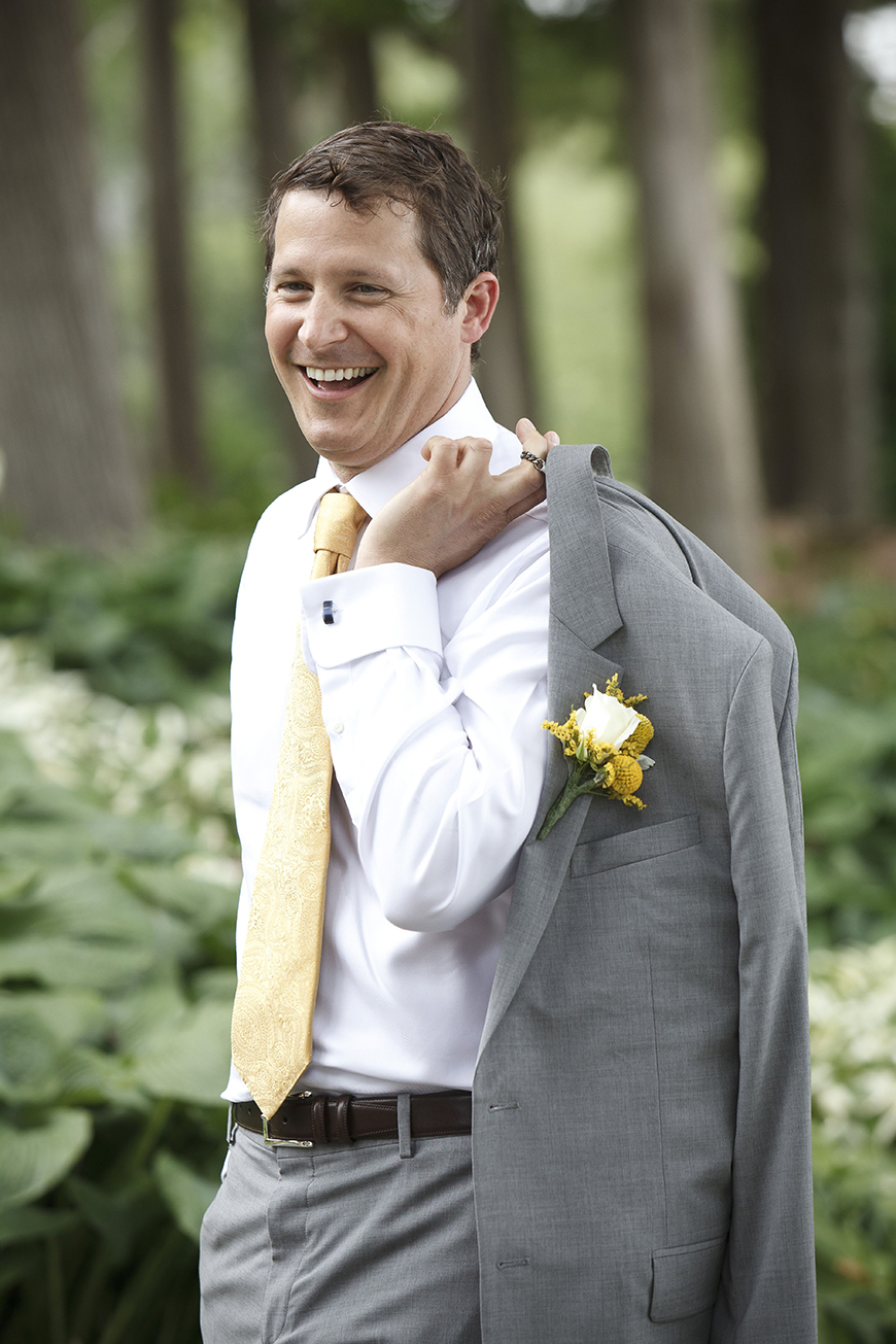 Wedding Ideas By Colour: Yellow Groom's Accessories - Tie | CHWV
