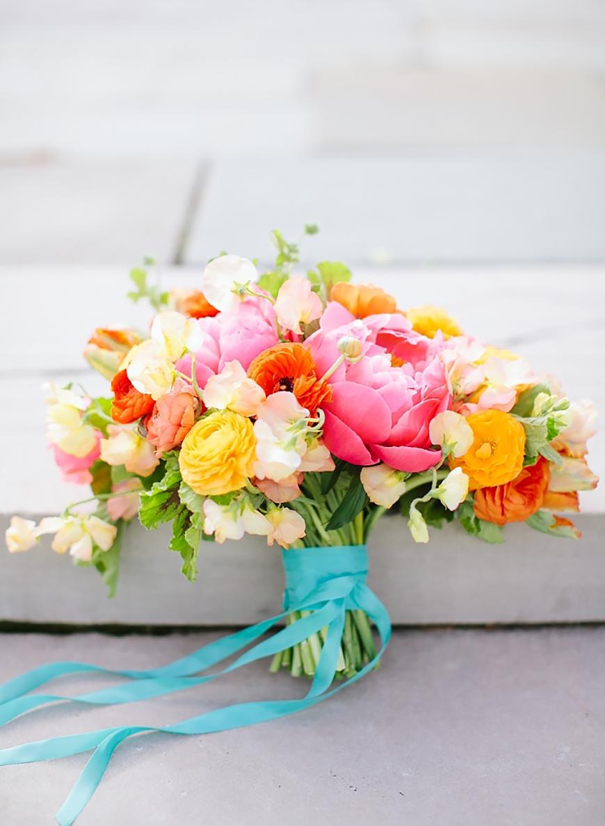 Wedding Ideas By Colour: Yellow Wedding Flowers | CHWV