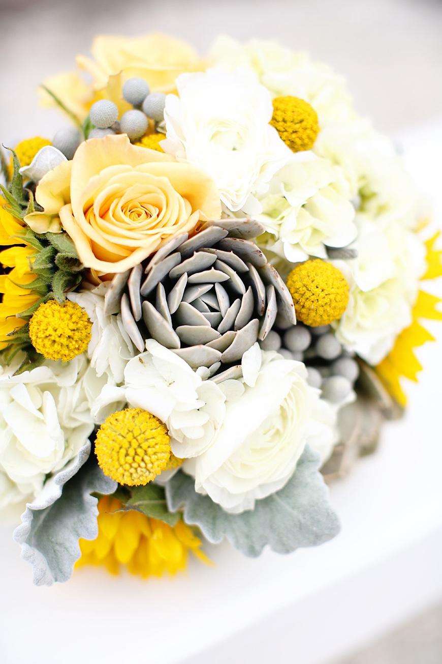 Yellow Wedding Flowers Wedding Ideas By Colour Chwv