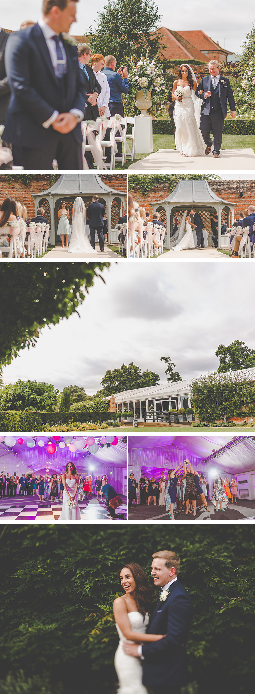 Zillia and Martyn's Pastel Summer Wedding At Braxted Park - The best bits | CHWV
