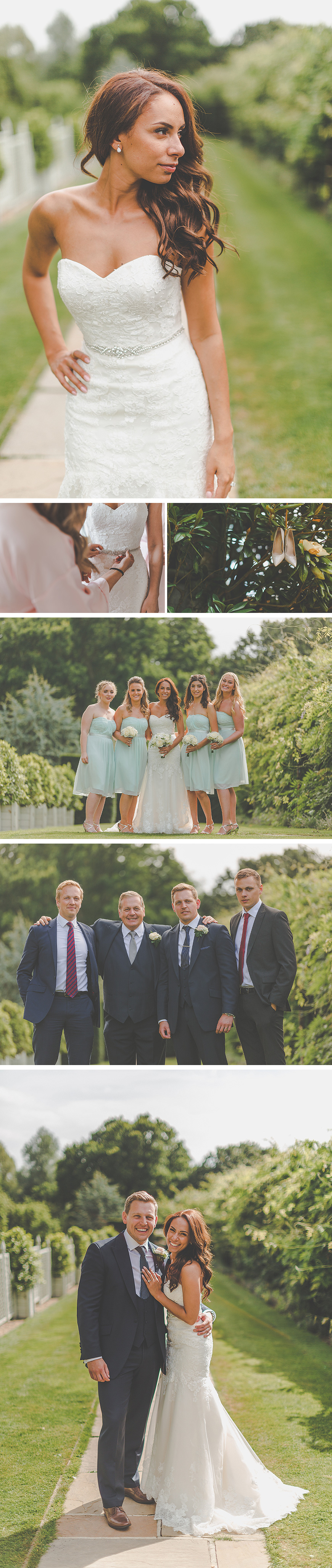 Zillia and Martyn's Pastel Summer Wedding At Braxted Park - The outfits | CHWV