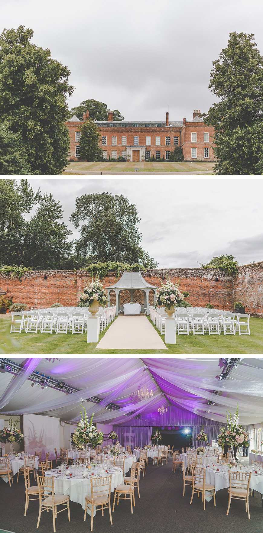 Zillia and Martyn's Pastel Summer Wedding At Braxted Park - The venue | CHWV