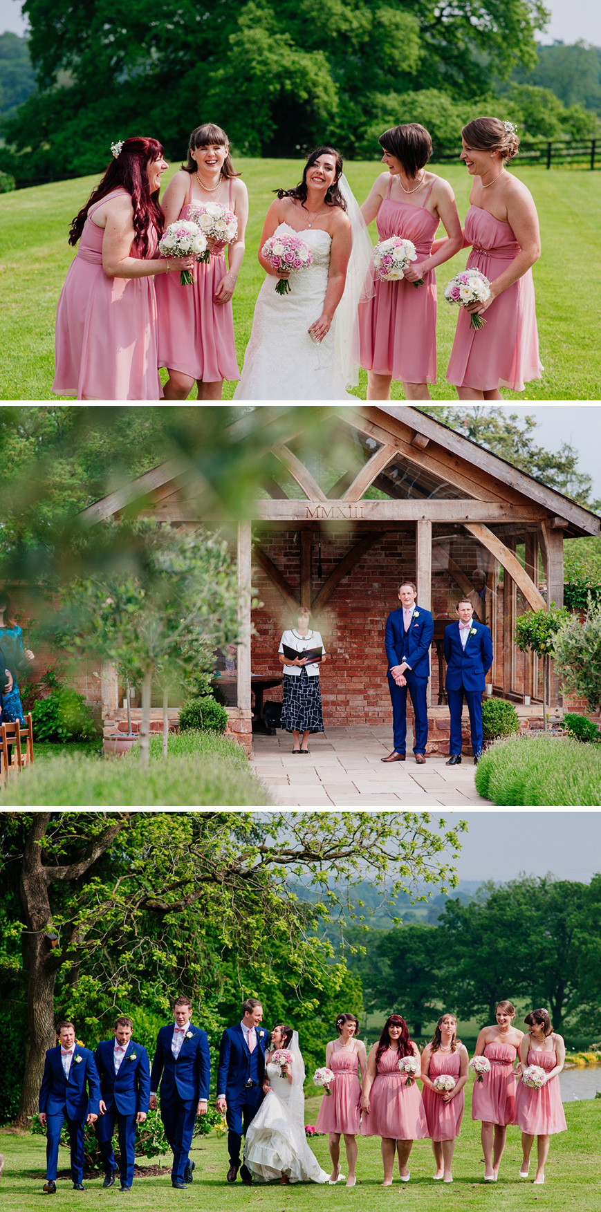 Real Wedding - Zoe and Richard's Laid-Back Wedding At Upton Barn | CHWV